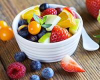 recette fruit sans gluten