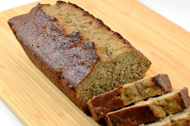 Cake banane et sarrasin sans gluten