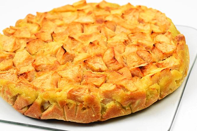 Clafoutis aux pommes sans gluten