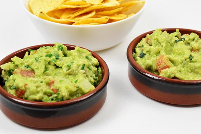Duo de guacamole sans gluten
