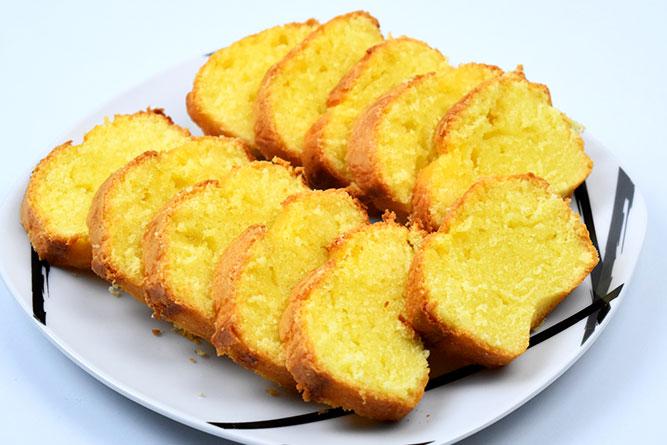 Gâteau au yaourt citronné sans gluten