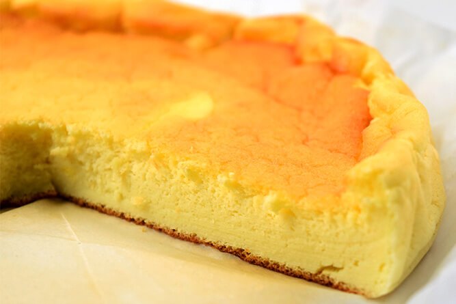 Gâteau au yaourt façon cheesecake sans gluten