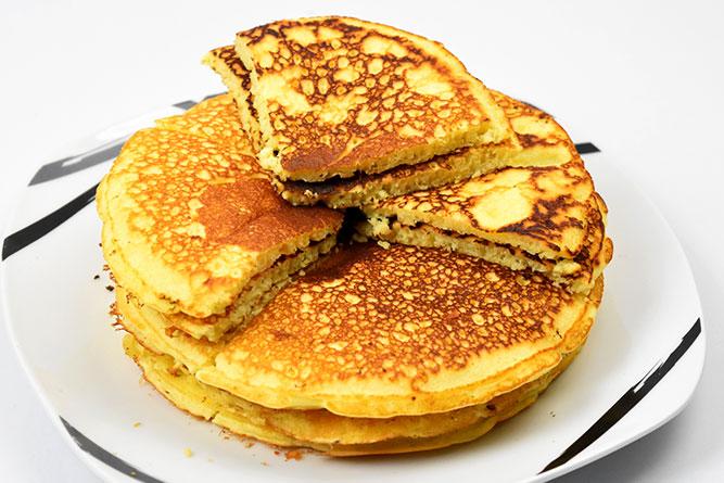 Pancakes à partager sans gluten