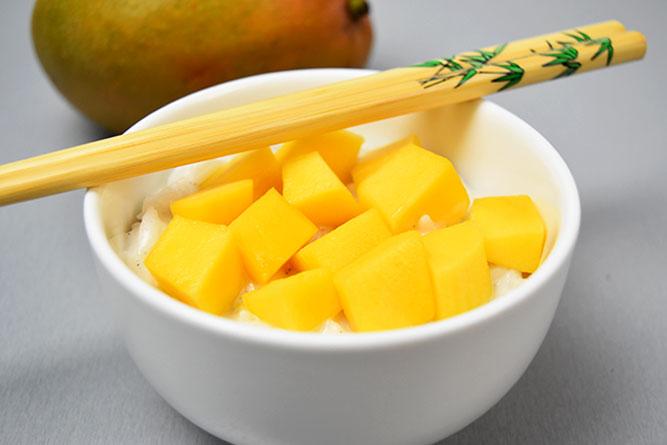 Riz coco mangue sans gluten