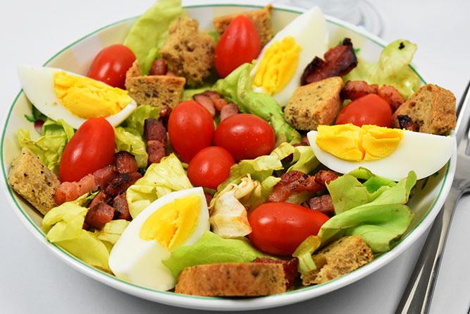 Salade campagnarde sans gluten