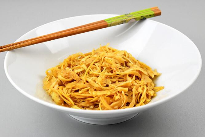 Salade de chou blanc japonaise sans gluten