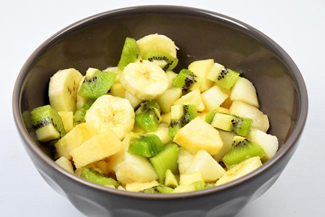 Salade de fruits d'hiver sans gluten
