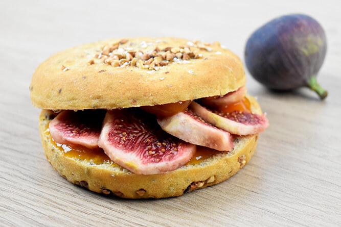 Sandwich figues et abricot sans gluten