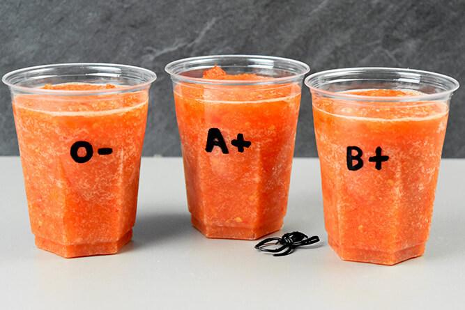 Sang rafraîchissant à la tomate sans gluten