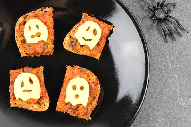 Toasts fantômes sans gluten